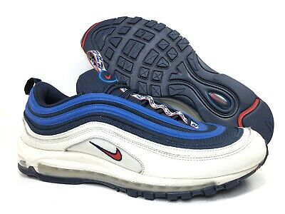 7c85848887 NIKE AIR MAX 97 SE Obsidian University Red Sail AQ4126-400 Size 13 ...