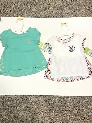 1341e4ccc CIRCO LOT OF 2 Tops Shirts Girls Toddler New With Tags Springtime ...
