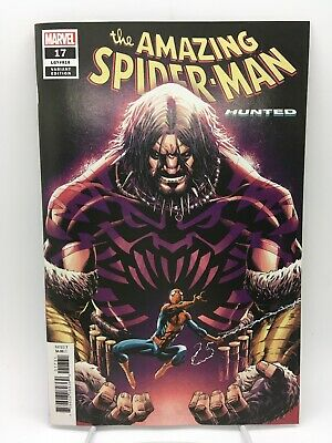 AMAZING SPIDER-MAN #17 Cory Smith Variant Marvel Comics 2019 Hunted Part 1