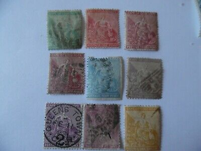 SOUTH AFRICA Cape of GH SG24,26a31,39,39a,44,55,64,67 USED CV£29.05