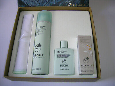 Liz Earle The Supercharged Ritual Set Cleanse & Polish Superskin Face Serum 10ml