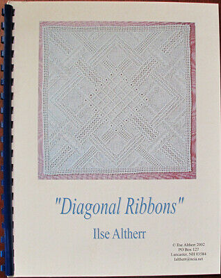 Ilse Altherr Diagonal Ribbons Counted Thread Chart/Pattern