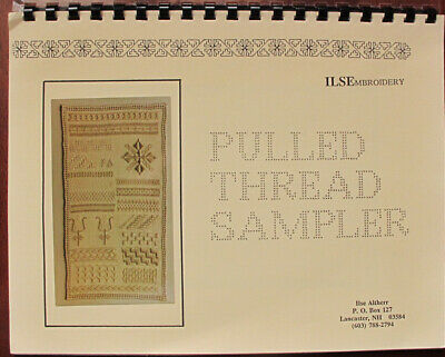 Ilse Altherr Pulled Thread Sampler Counted Thread Chart/Pattern