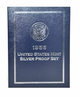 First Commemorative Mint 1956 United States Mint Silver Proof Set