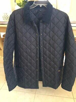 Barbour Mens Heritage Liddesdale Navy Jacket Excellent Condition XXL