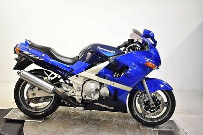 Kawasaki Zzr600-2001-Blue-Fresh Japanese Import-Clean Spring Project-Nice