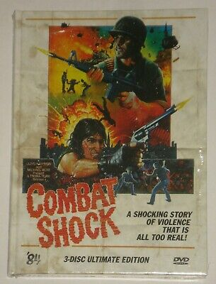 Combat Shock Mediabook 3-Disc Ultimate Edition Cover B