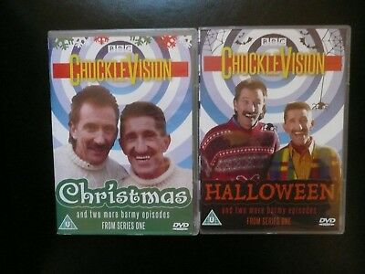 Chuckle Brothers Chuckle Vision DVDs Halloween & Christmas