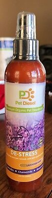 Pet Diesel Premium Organic Pet Deodorizer Cat/Dog/Ferret Lavander Scent 8 fl oz