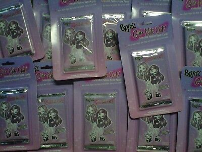 20 Bratz Fashion Party Fever Trading Card Game-Girls Nite Out Booster Packs NEW