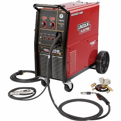 Lincoln Electric Power MIG 256 Wire-Feed Welder -300 Amps, # K3068-1