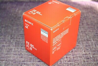 Sony FE 85mm f1.8 Lens SEL85F18 for Sony E Mount NEW