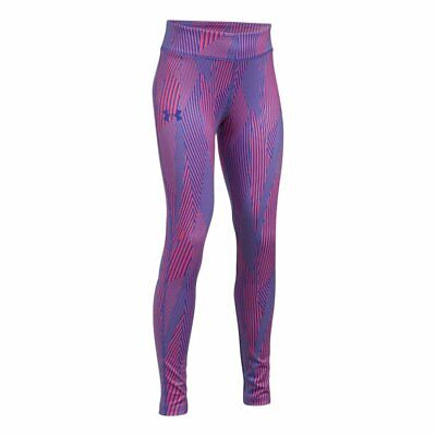 Under Armour Girls Heatgear Armour Printed Tights Youth XL