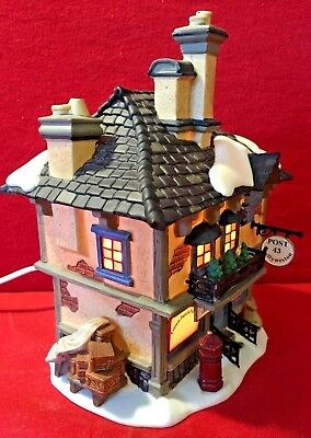 Collyweston Post Office Dept 56 Dickens Village 58510 Christmas building city A