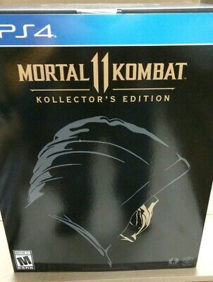 NEW Mortal Kombat 11 Kollector's Edition (with Shao Kahn DLC) (Sony PS4, 2019)