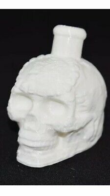 Aztec Death Whistle White 3D Printed VERY LOUD!!!!!