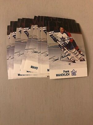 (Lot Of 11)!! Frank Mahovlich 1988 Esso Sticker Cards - Toronto Maple Leafs