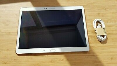 Samsung Galaxy Tab S 10.5 SM-T800 16GB, Wi-Fi, 10.5in - Dazzling White Tablet
