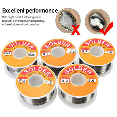 50g/100g 63-37 Tin Lead Rosin Core Solder Wire for Electrical Solderding 0.5-2mm