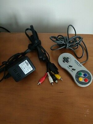 Super Nintendo Controller, AV Cable, and Power AC Adapter Lot