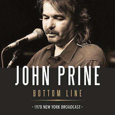 JOHN PRINE New 2019 UNRELEASED LIVE IN NEW YORK 1978 2 CD SET