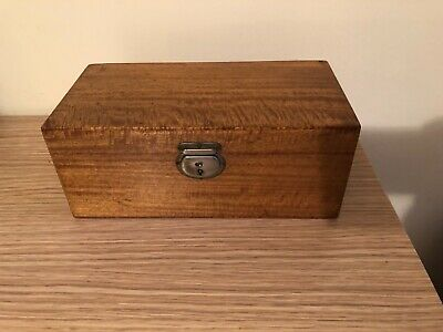 Antique Fine 19 th century hinged document box made of rampant tiger maple