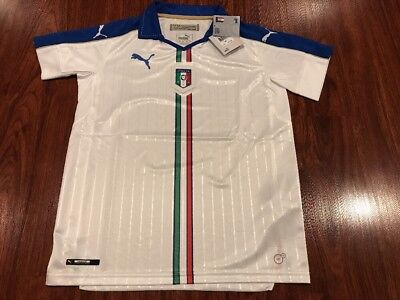 5d076818c Puma Youth Italy National Team Away Soccer Jersey Italia Extra Large XL Boys
