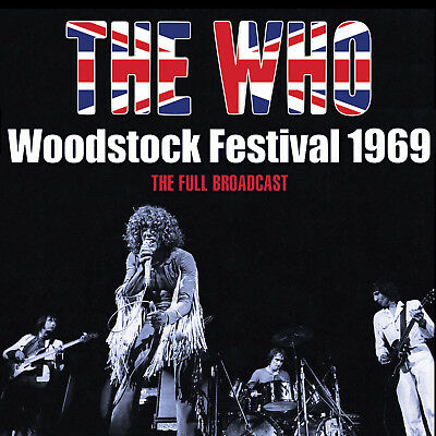 THE WHO New Sealed 2019 LIVE COMPLETE 1969 WOODSTOCK CONCERT CD