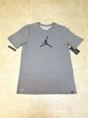 c2aacaf7903 NIKE AIR JORDAN 23/7 Jumpman Dri-Fit T-shirt Men's Grey NWT JSW ...