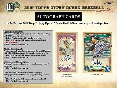 Toronto Blue Jays 2019 Topps Gypsy Queen Baseball 5 Box Half Case Break #3