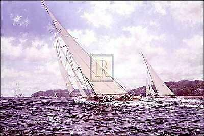 Steven Dews 'Candida' and 'Astra' off Cowes Signed Limited Edition of 950