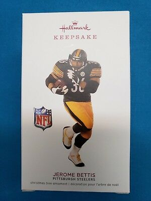 2018 Hallmark Keepsake Ornament Jerome Bettis Pittsburgh Steelers football nfl