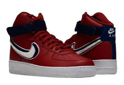 best sneakers 47410 aa0c8 NIKE AIR FORCE 1 High '07 LV8 SZ 12 Gym Red/White-Blue Void-White (806403  603)