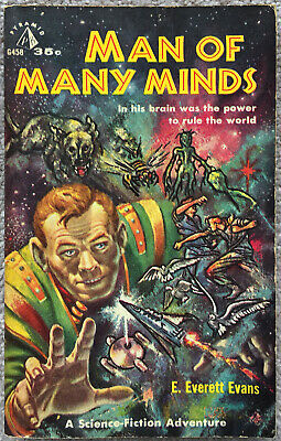 Man of Many Minds, by E. Everett Evans.  1959 edition.