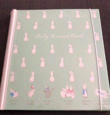 Paperchase Peter Rabbit Baby Record Book Brand New and Sealed