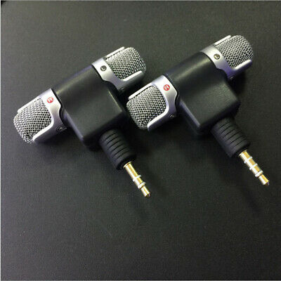 3.5mm Jack Mini Recorder Stereo Voice Microphone Mic for Laptop PC Phone Android