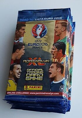 UEFA Road to Euro 2016 ADRENALYN XL Card By PANINI 10 packs (60 cards )