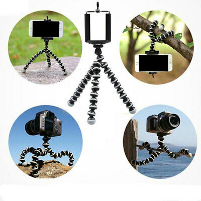 Flexible Tripod Stand Pod For Universal Phone GoPro Camera Placement Brackets