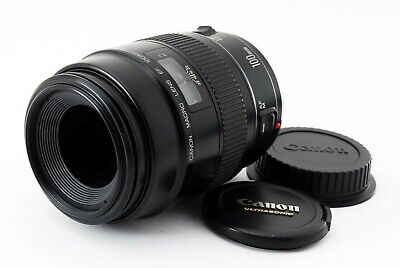 【Excellent+++++】Canon EF 100mm F2.8 Macro Lens from Japan 403878