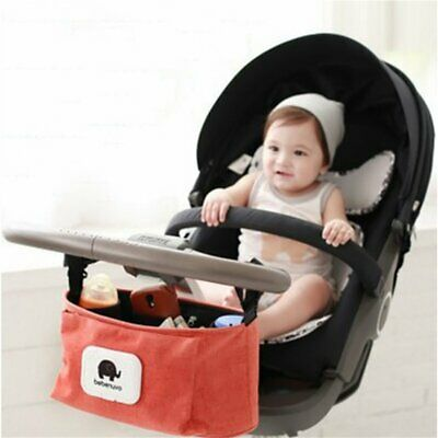 Baby Pushchair Pram Storage Bag Stroller Buggy Cup Bottle Holder Organiser CR