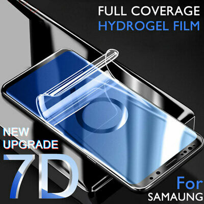 Full Cover Soft Film Protector for Samsung Galaxy S10 S9 S8 Plus S7 Edge Screen