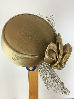 Gold cupid hat fascinator fancy