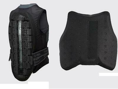 Knox Track Vest Motorcycle Body Armour Aegis Back Protector + Chest Upgrade