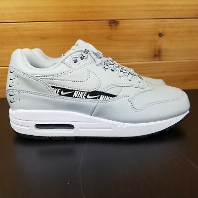 3a12a542c3 Nike Air Max 1 SE Overbranded Women's Sz 6.5 Shoe Black/White 881101-004