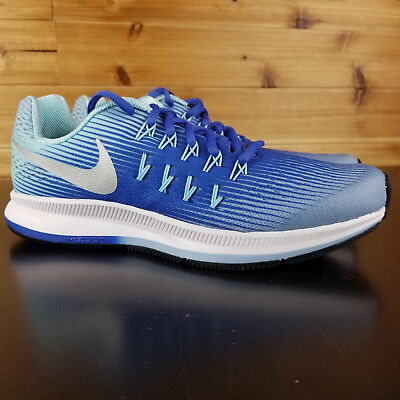 new products f70f7 6313d Nike Zoom Pegasus 33 834317 403 Junior GS Big Kids Blue Lifestyle Athletic  Shoes