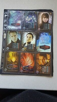 Dr Who Rare Tourchwood Trading Cards.   Tourchwood 2006.  27 Rare Cards.