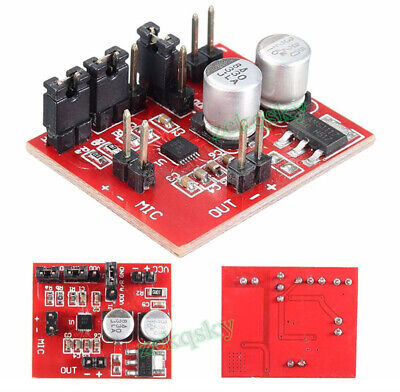 Cables MAX9814 Electret Microphone Amplifier Board with AGC Function DC 3V-12V