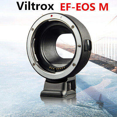Viltrox EF-EOS M Mount Adapter Ring For Canon EF Lens to EF-M EOS M Camera SLR
