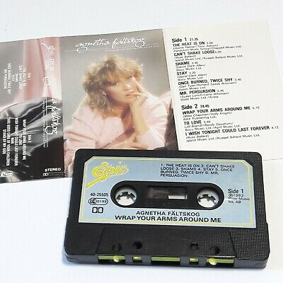 Agnetha Faltskog Wrap Your Arms Around Me 1983 Cassette Tape Album Abba
