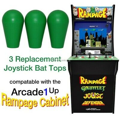 Arcade1up Street Fighter 2 Rampage, Jamma, MAME, 3 Joystick Bat Top Handles, New